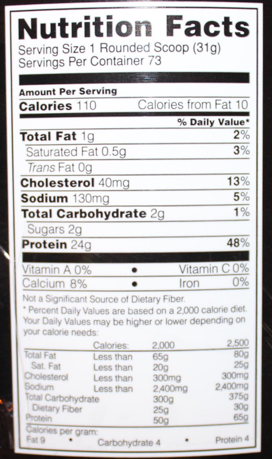 Optimum Nutrition Gold Standard 100% Whey - French Vanilla (2.27kg) image