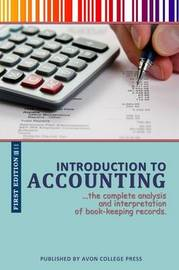 Introduction to Accounting by Avon College Press
