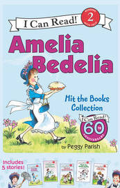 Amelia Bedelia I Can Read Box Set #1: Amelia Bedelia Hit the Books by Peggy Parish
