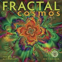Fractal Cosmos 2018 Wall Calendar by Alice Kelley