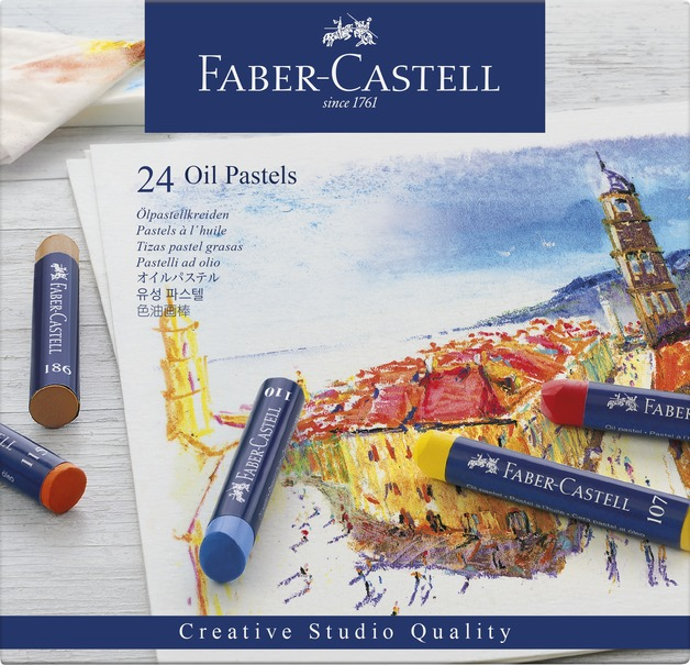 Faber-Casell: Creative Studio Oil Pastel (Set of 24)