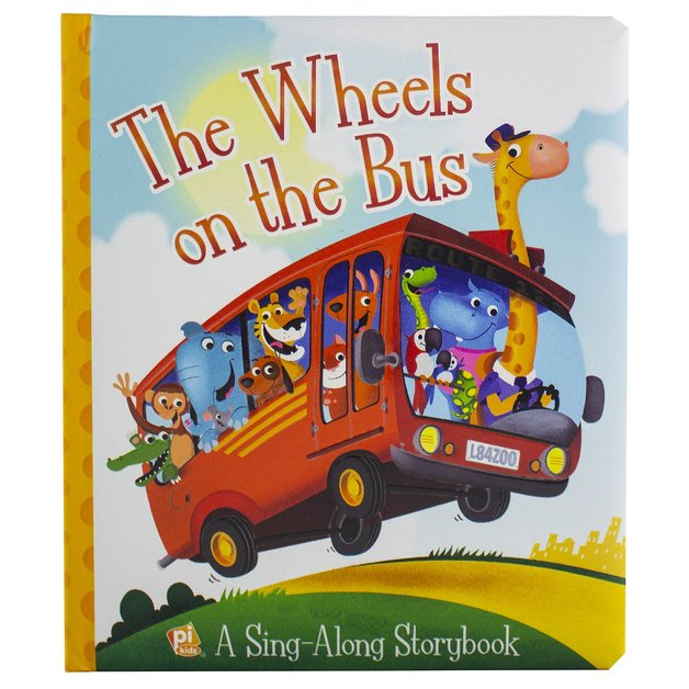 Wheels on the Bus Board Book by P I Kids