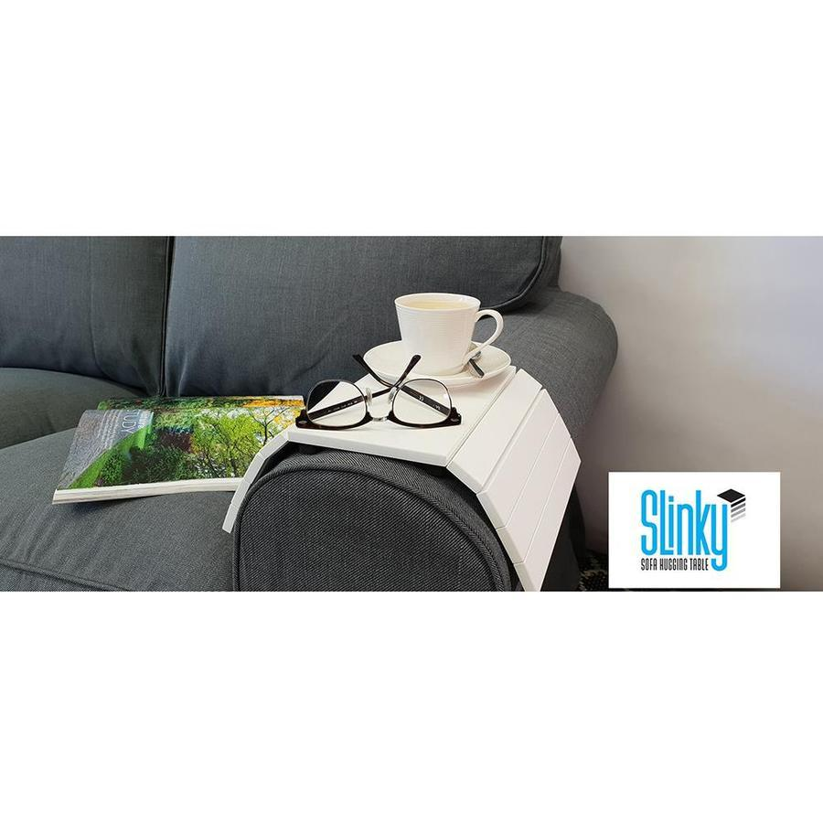 Slinky Sofa Table - White image