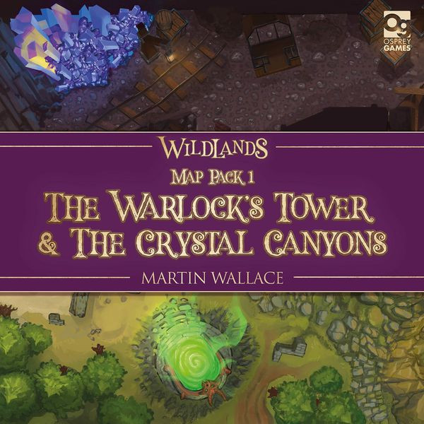 Wildlands: Warlock's Tower & Crystal Canyons - Map Pack 1