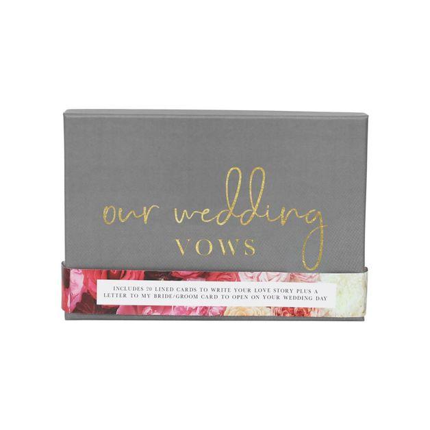 Splosh: Wedding Vows Writing Set