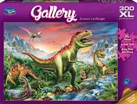 Holdson XL: 300 Piece Puzzle - Gallery S6 (Jurassic Landscape) image