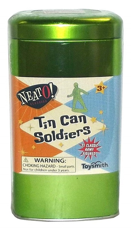 Toysmith: Neato - Tin Can Soldiers