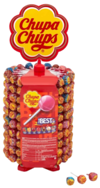 The Best of Chupa Chups Lolly Tower 200pk