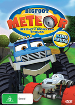 Bigfoot Presents Meteor And The Mighty Monster Trucks - Vol. 1: King Krush on DVD