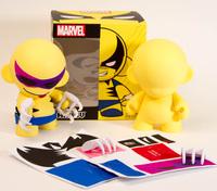 """Marvel Mini Munny 4"""" Wolverine Vinyl Figure"""