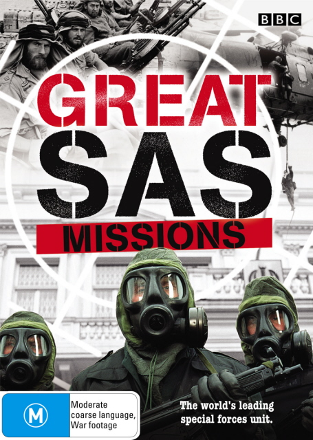 Great SAS Missions on DVD image