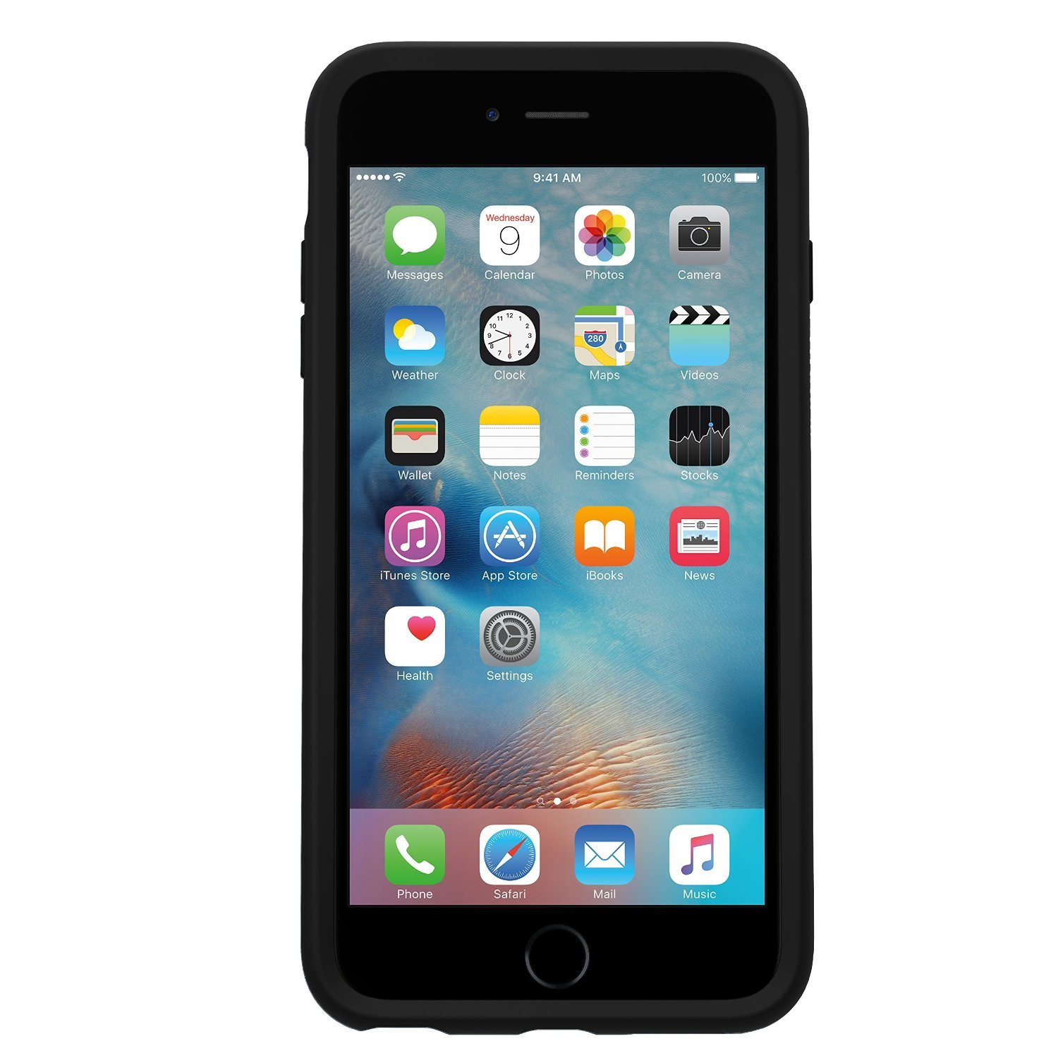 OtterBox Symmetry Case for iPhone 6/6S - Black image