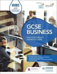 WJEC and Eduqas GCSE Business by Malcolm Surridge image