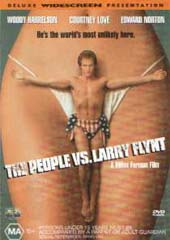 The People Vs Larry Flynt on DVD