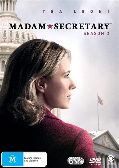 Madam Secretary - Season 3 on DVD image