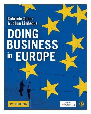 Doing Business in Europe by Gabriele Suder image