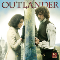 Outlander 2019 Square Wall Calendar by Sellers Publishing