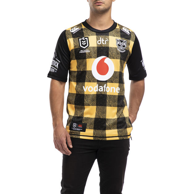 Vodafone Warriors Bushshirt Jersey (L)