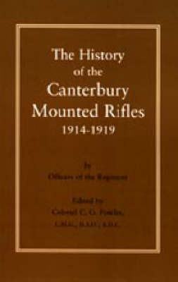 History of the Canterbury Mounted Rifles 1914-1919 by C.G. Powles image