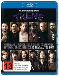 Treme - The Complete Third Season on Blu-ray
