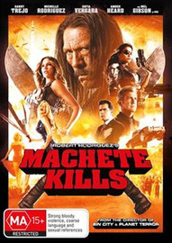 Machete Kills on DVD