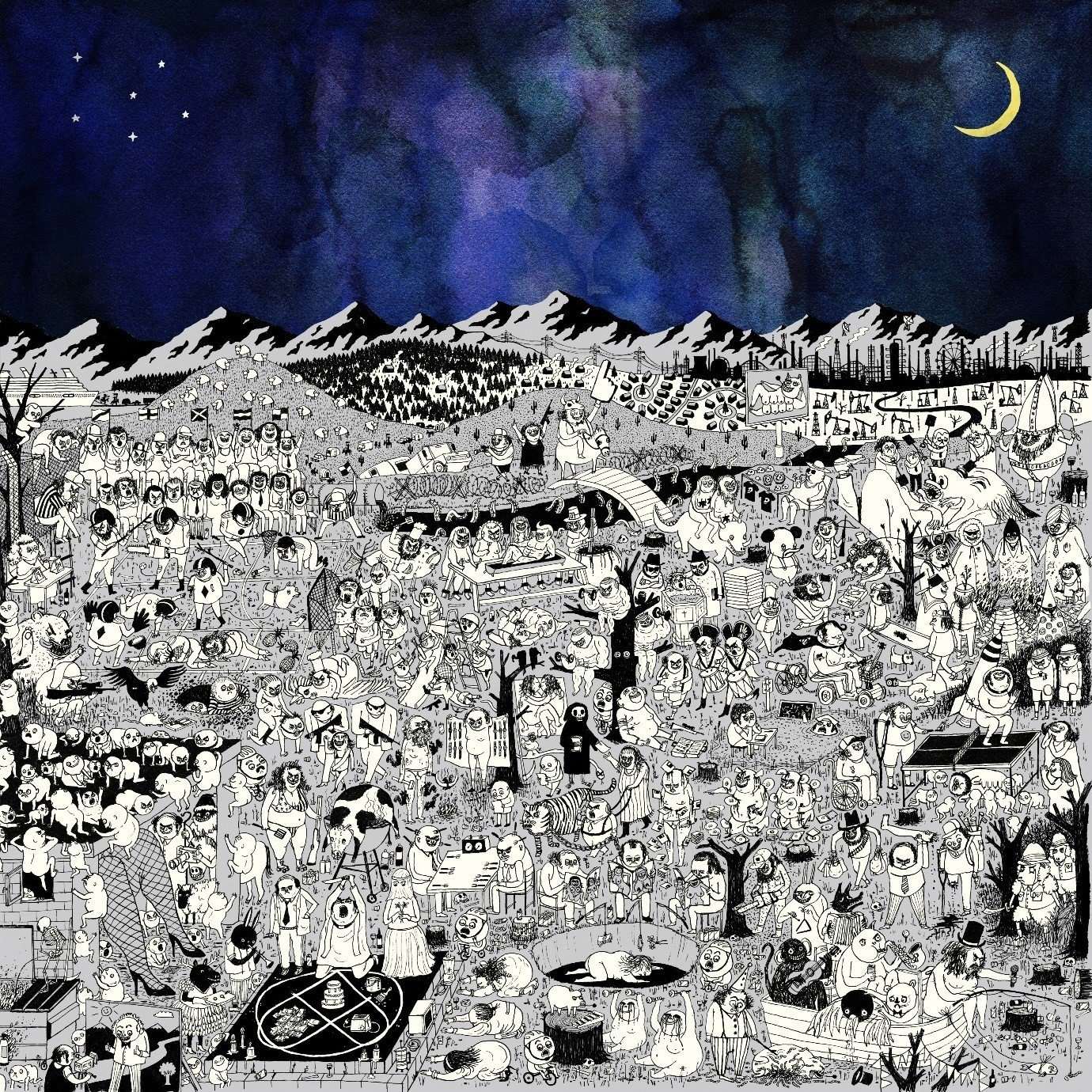 Pure Comedy (2LP) by Father John Misty image