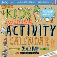 The Kid's Awesome Activity 2018 Mini Wall Calendar by Mike Lowery