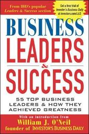 Business Leaders & Success by Investor's Business Daily