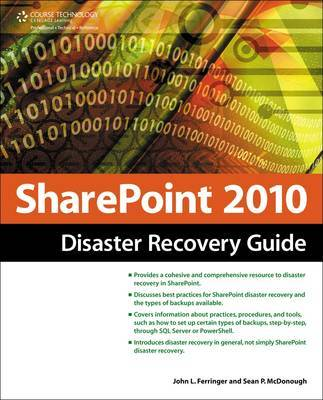 SharePoint 2010 Disaster Recovery Guide by John Ferringer image