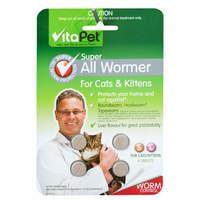 Vitapet: Super All Wormer Cats & Kittens (4 Pack)