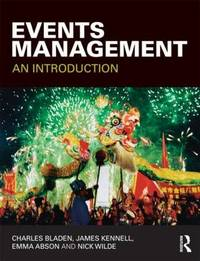 Events Management by Charles Bladen
