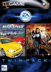 Hot Pursuit 2 + Return of the King Twin Pack for PC Games