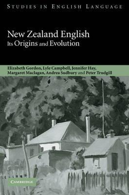 New Zealand English by Elizabeth Gordon image