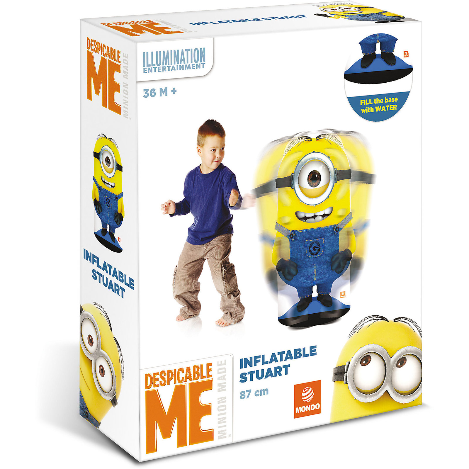 Minions: Inflatable Punching Bag Minion   Toy   at Mighty Ape NZ