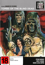 Tombs Of The Blind Dead on DVD image