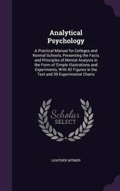 Analytical Psychology by Lightner Witmer image