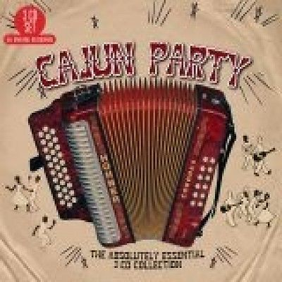 Cajun Party: The Absolutely Essential Collection (3CD) by Various Artists