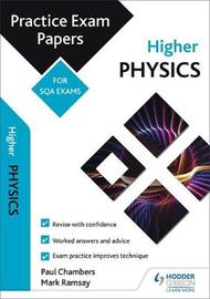 Higher Physics: Practice Papers for SQA Exams by Paul Chambers image