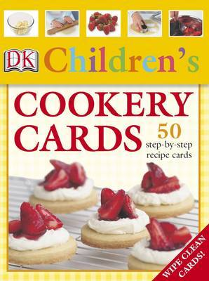 Children's Cookery Cards: 50 Step-by-step Recipe Cards image