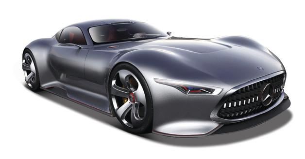 Maisto: 1:32 Scale Diecast Vehicle - Vision Gran Turismo (Silver)