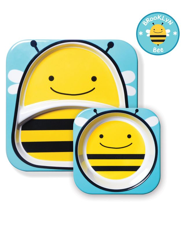Skip Hop: Zoo Melamine Set - Bee