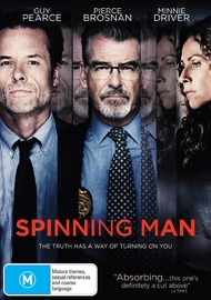 Spinning Man on DVD