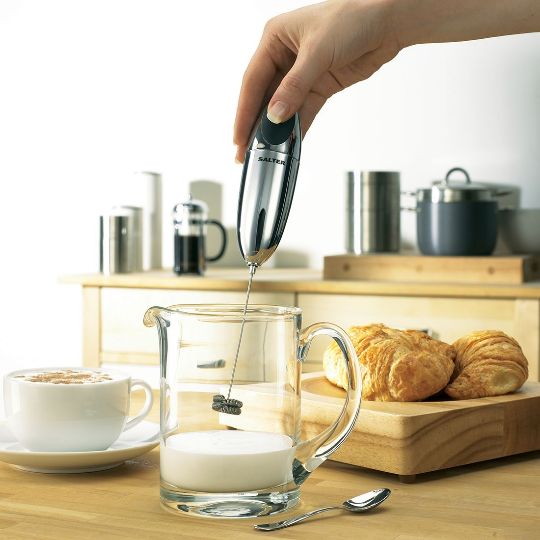 Salter: Double Coil Whisk Milk Frother image