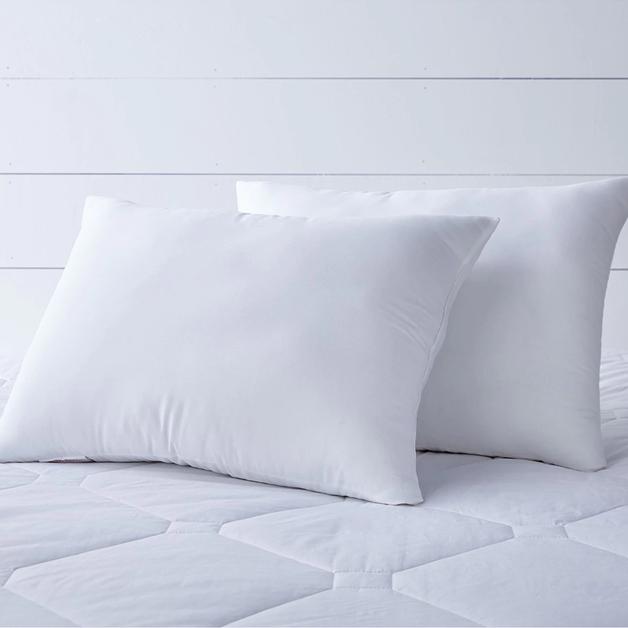 Renee Taylor Comfort Zip Pillow - Twin Pack