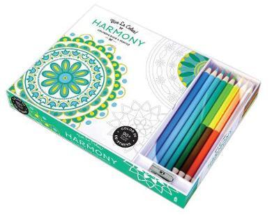 Vive Le Color! Harmony (Coloring Book and Pencils): Color Therapy Kit (Meet the Artist)