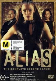 Alias - Complete Season 2 (6 Disc Box Set) on DVD image