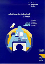 Adult Learning in England by Jim Hillage image