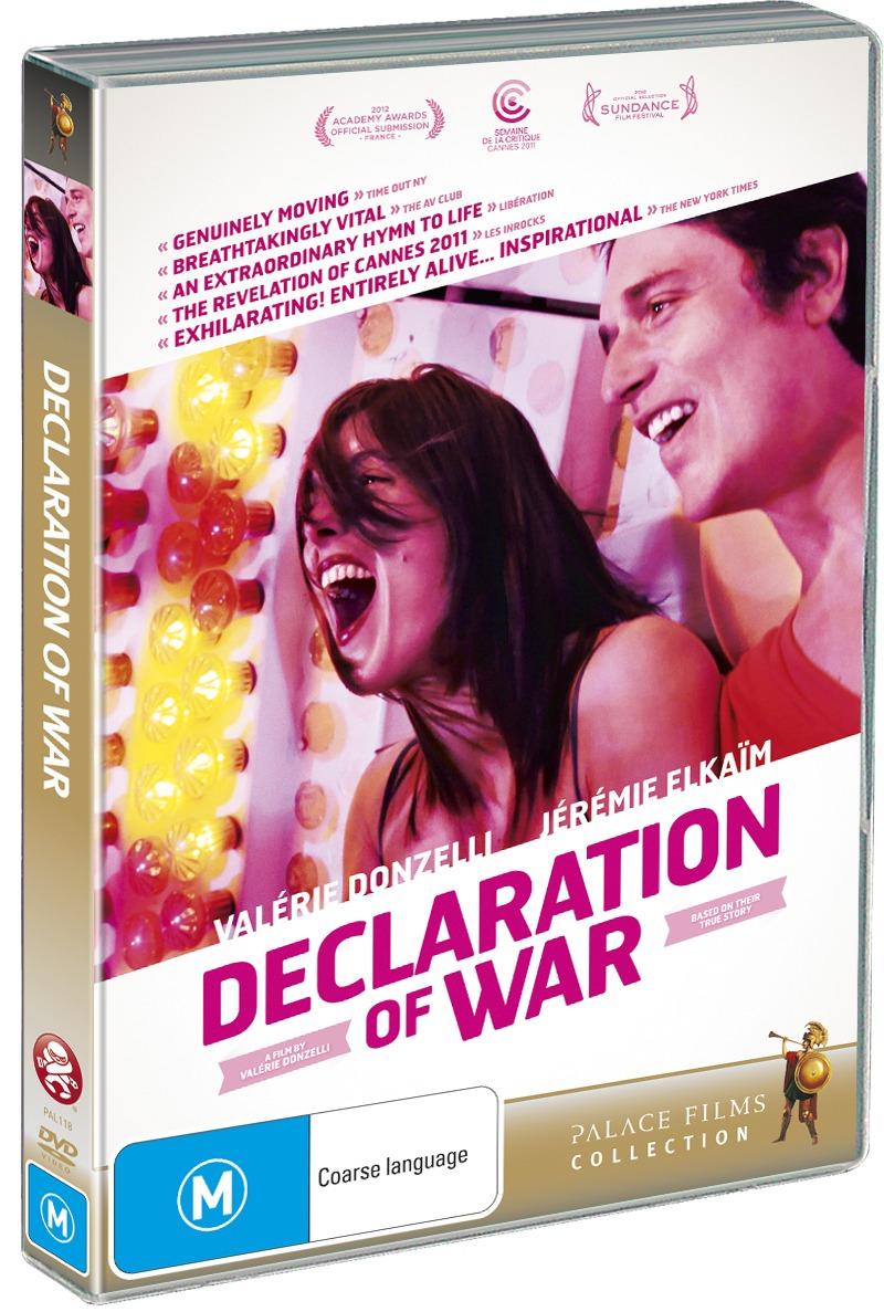 Declaration of War on DVD image