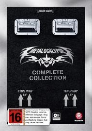 Metalocalypse: Seasons 1 - 4 (Doomstar Requiem) on DVD