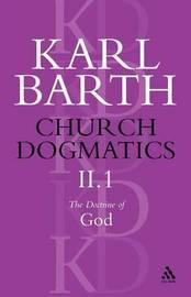 Church Dogmatics Classic Nip II.1 by Barth image